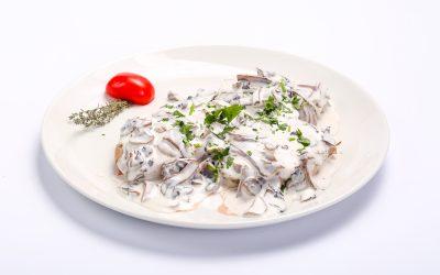 Medalion de porc cu ciuperci